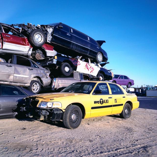 taxi driver. mojave desert, ca. 2011.