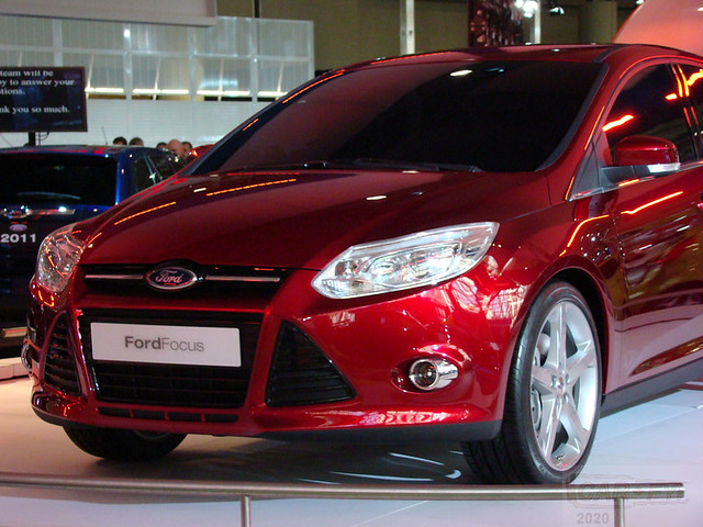 New Ford Focus at 2010 CIAS