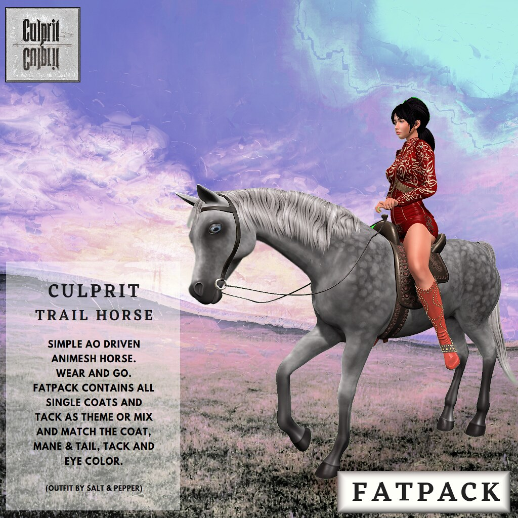 Culprit Trail Horse (for Uber)