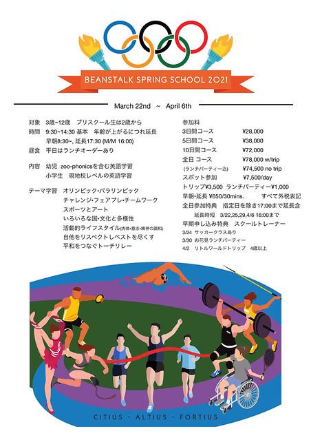 Final Spring school 2021
