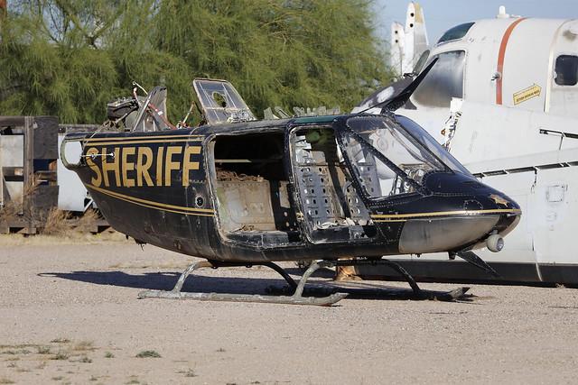Bell Helicopter, Sheriff, Tucson - Arizona