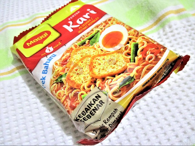 Maggi Mee, curry
