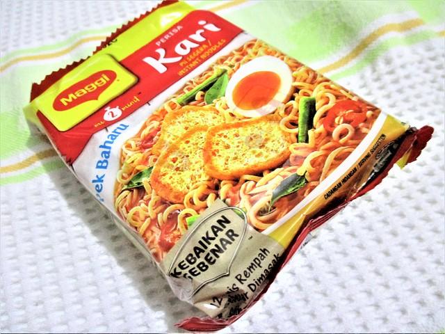 Maggi Mee, curry