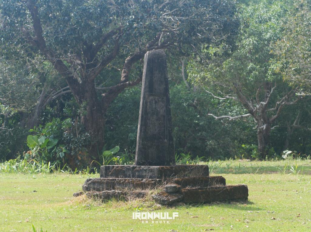 Barangay island marker