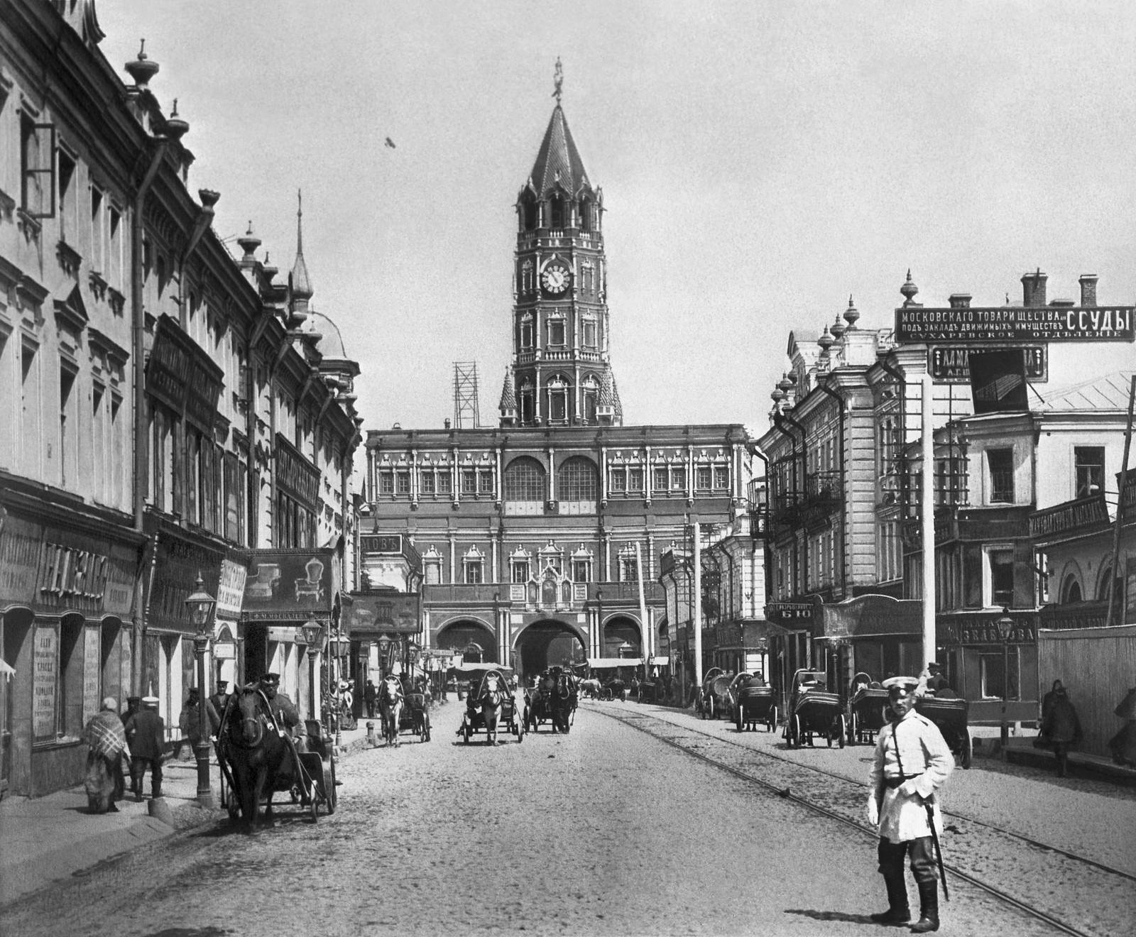 Сретенка. 1901
