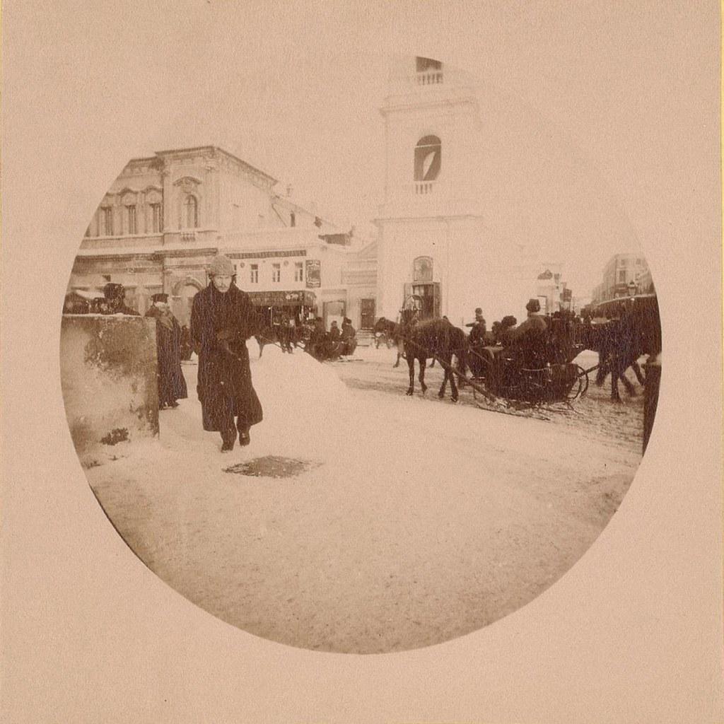 Воскресенский проезд. 1889