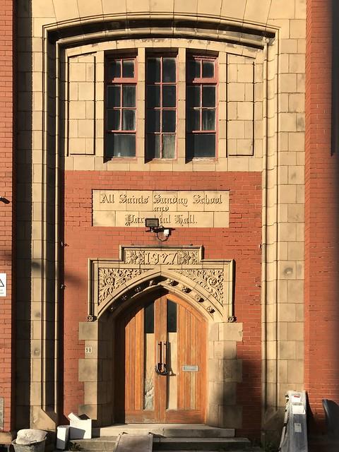 All Saints Sunday School and Parochial Hall, 1927