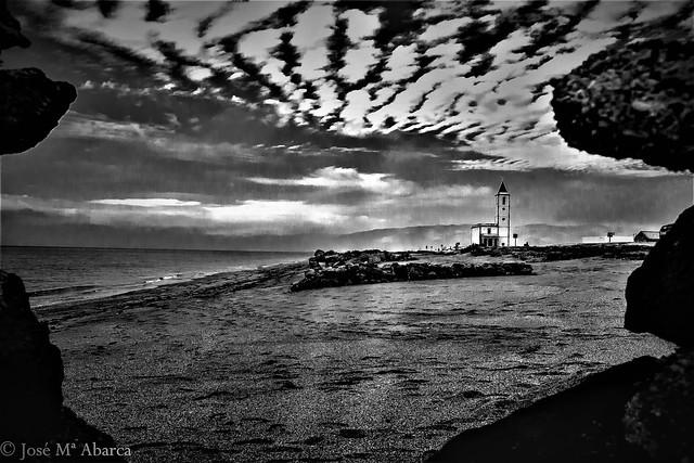 La arena de las Salinas
