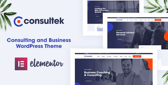 Consultek Consulting WordPress Theme Themelexus