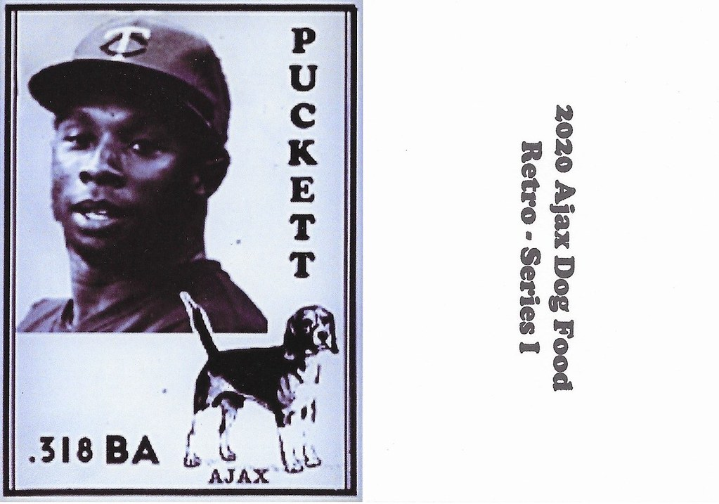 2020 Ajax Dog Food Retro Alt Back - Puckett, Kirby