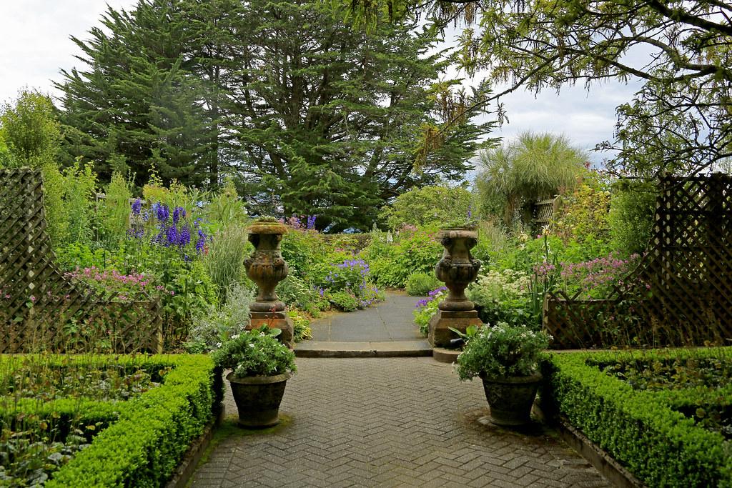 Larnach Castle Garden
