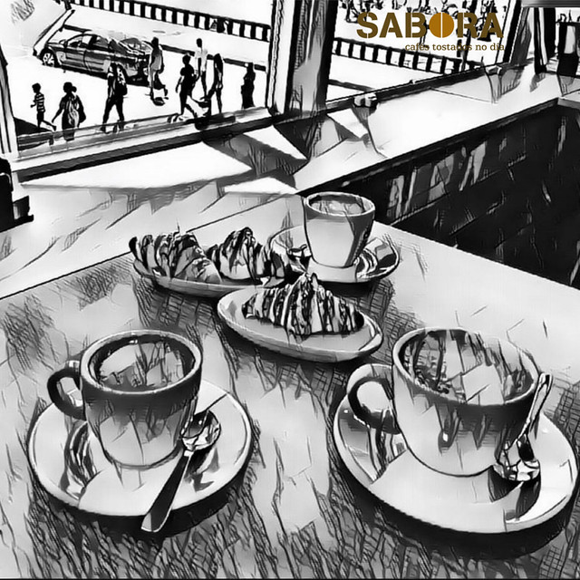 En Italia estos cafés se toman en el desayuno.