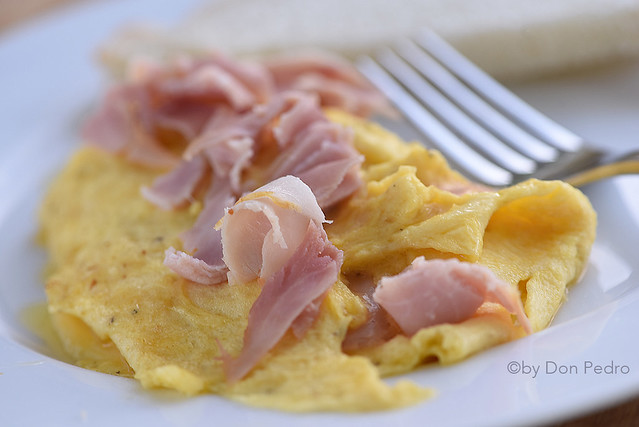 omelet-ham