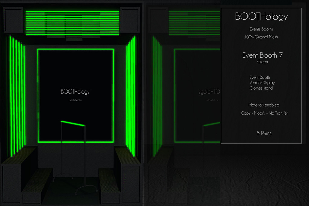 Bothology – Event Booth 7 Green Version AD