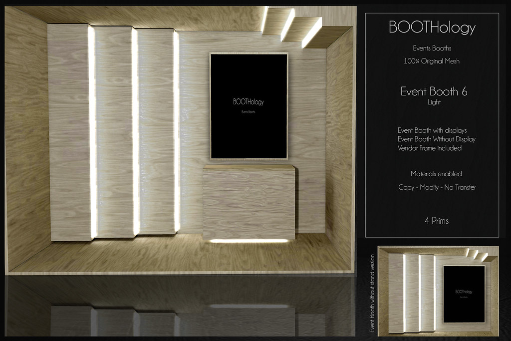 Bothology – Event Booth 6 Light AD