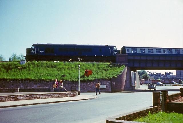31May75. Exwick. 'Peak' Class 46 46036 (Ex D173). [Slide_0967]