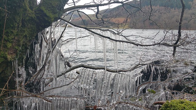 Loweswater icicles