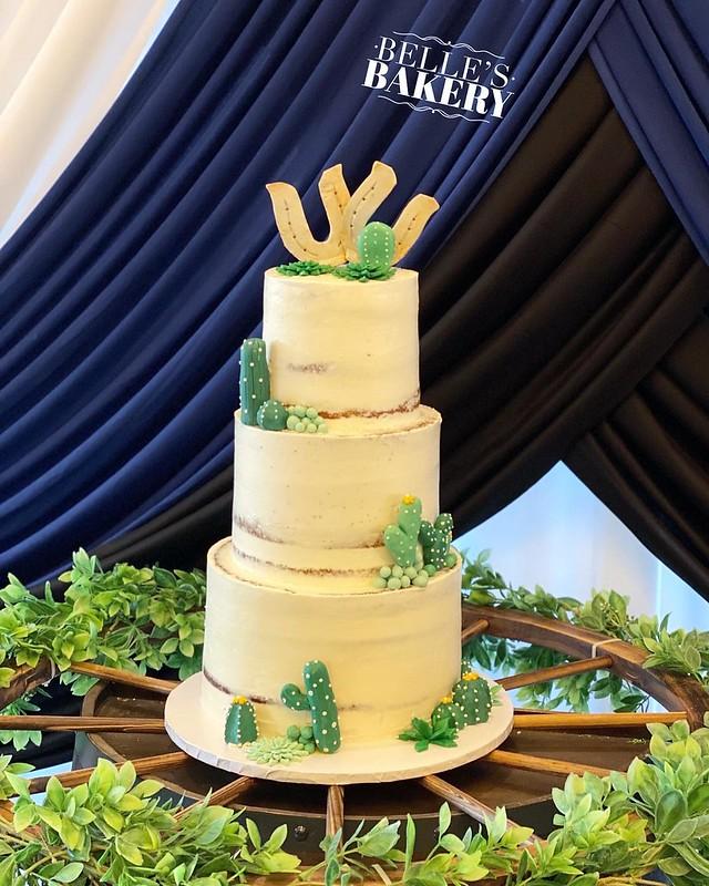 Cake by Belle's Bakery Tx