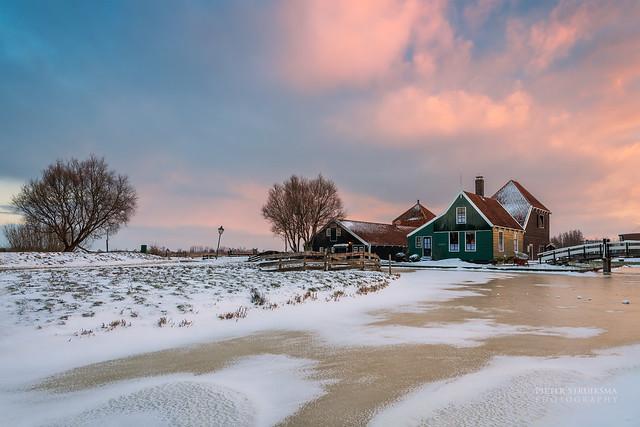 Kaasboerderij, winter 2021