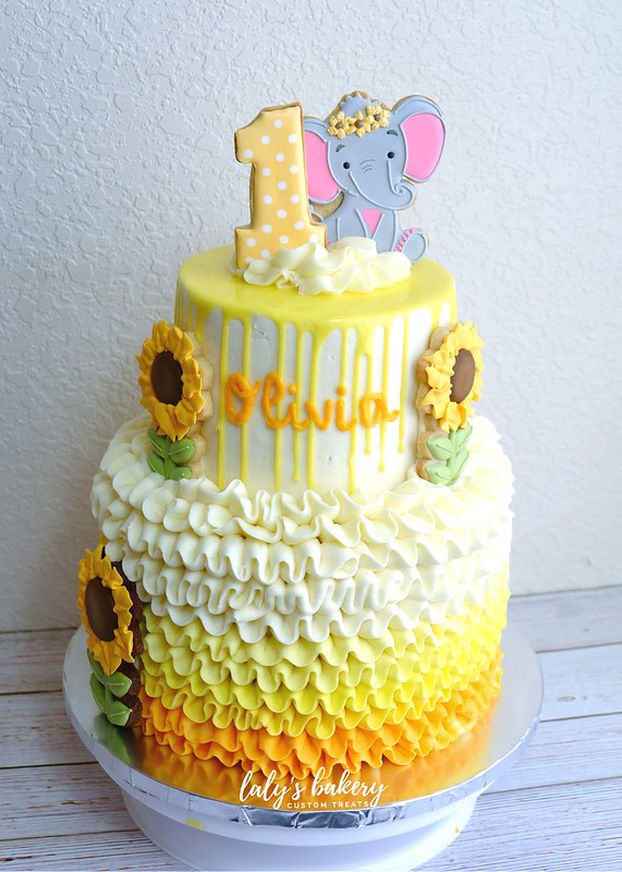 Cake by Laly's Bakery
