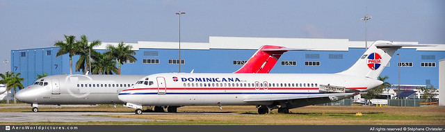 OPF.2011 | #NWA #PAWA.Dominicana #Douglas #DC-9-31 #N919RW | #AWP-CHR