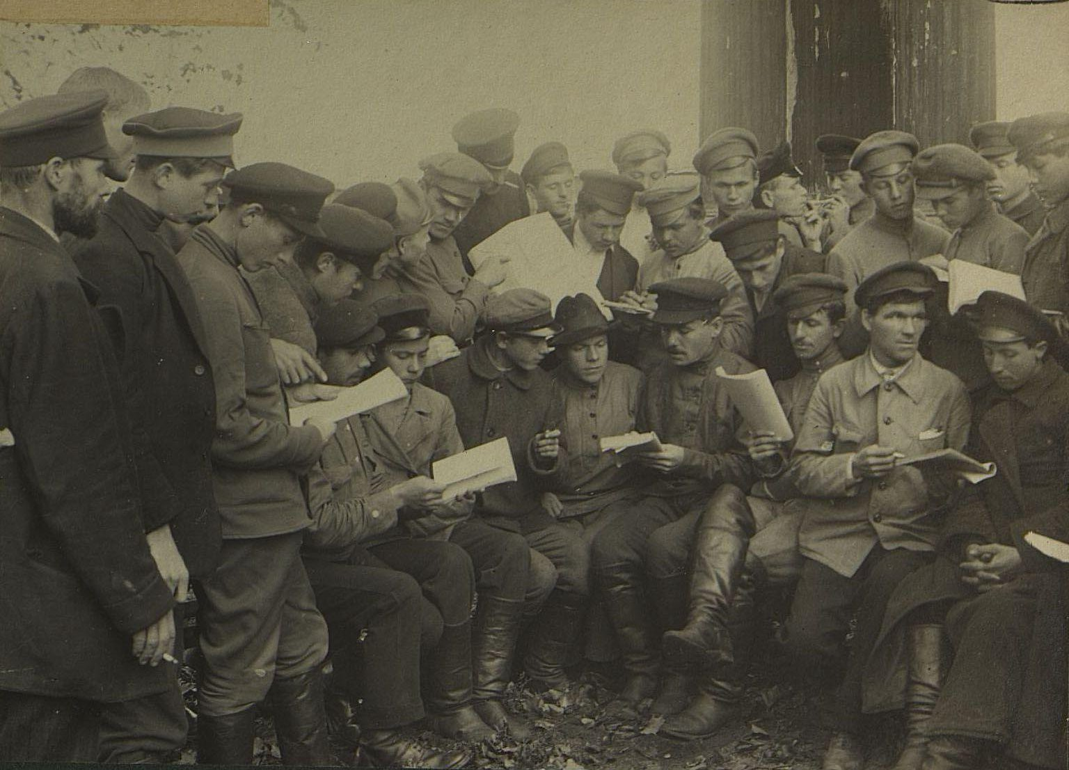 Досуг курсантов 1918 года1
