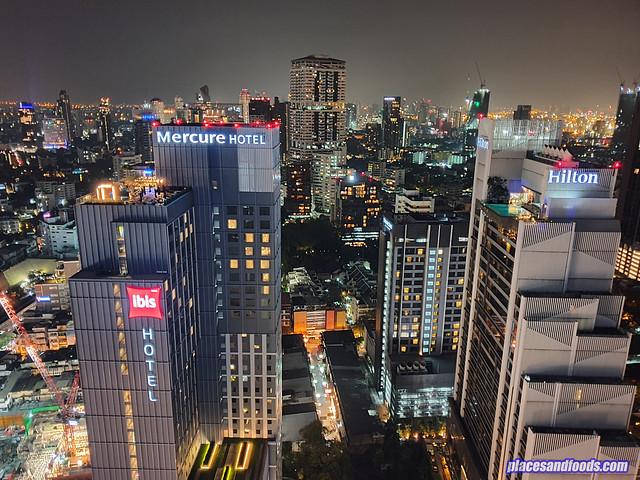 bangkok night view mercure