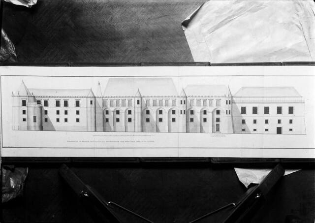 Prospecto do Palácio da Universidade. Portugal