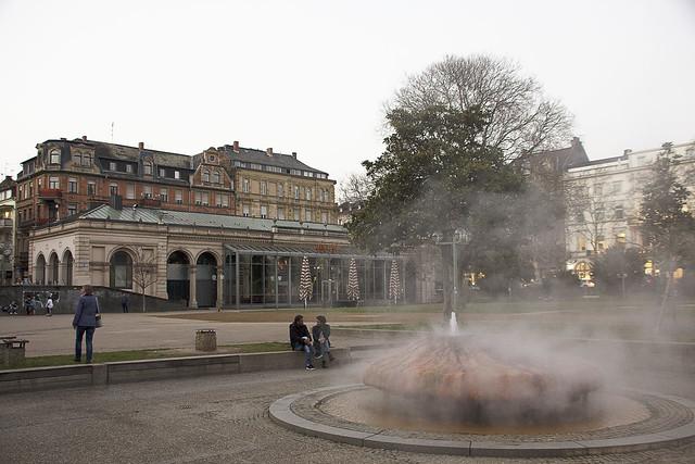 Heiße Quellen in Wiesbaden - Hot springs in Wiesbaden