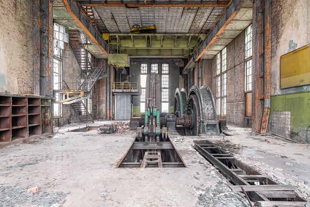 Colliery winding house