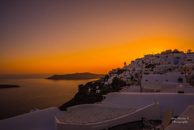 Imerovigli Heavenly Sunset