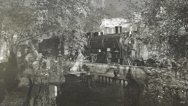 Mystery train....