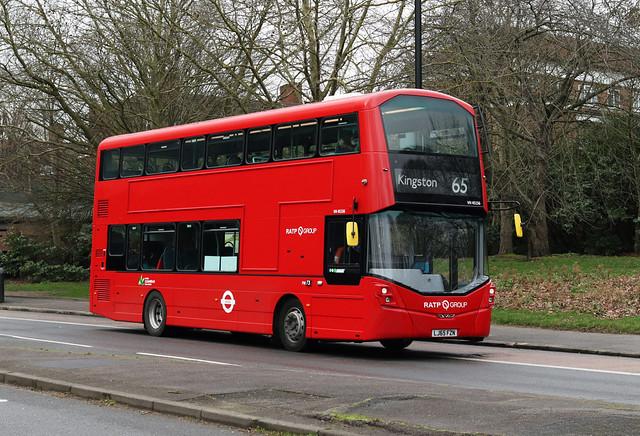 Route 65, London United, VH45156, LJ65FZN