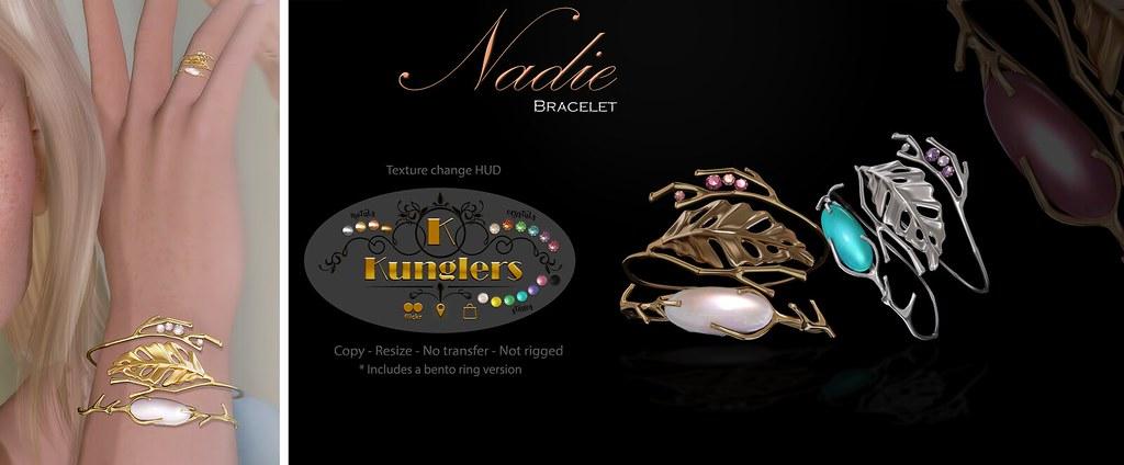 KUNGLERS Nadie bracelet