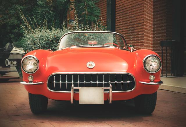 Chevrolet Corvette C1. 1956