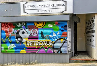 Retrogue Vintage Clothing, Preston | by Tony Worrall