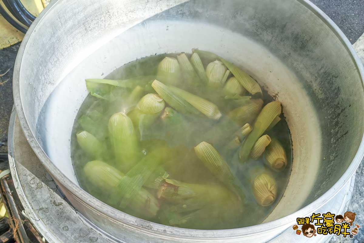 潮州烤玉米 圓環玉米 潮州美食-2