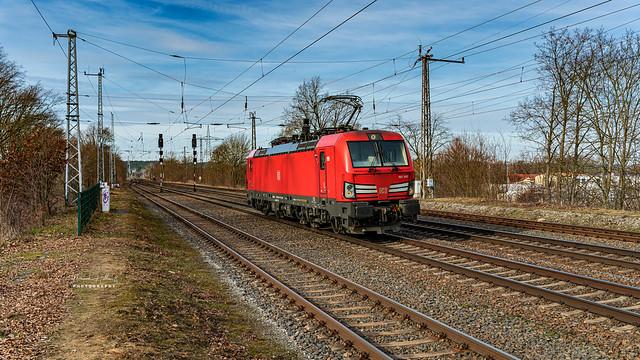 DB 193 343-1 am 20.02.2021 in Saarmund