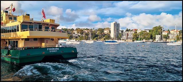 'Fishburn' ferry, Neutral Bay - Sydney