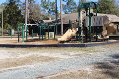 Playground behind Visitor's Center, Little Ocmulgee State Park