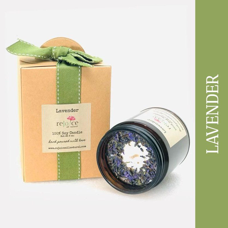 Find Fragrant Soy Candles At Rejoice All Natural
