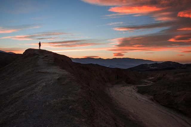 Death Valley Skies Set Alight