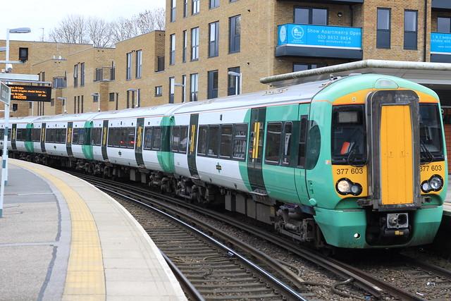 Southern Rail   377603   Coulsdon Town
