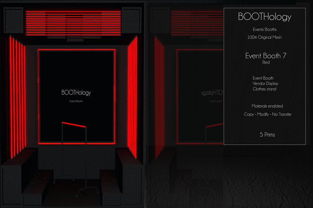 Bothology – Event Booth 7 Red Version AD
