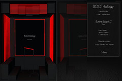 Bothology - Event Booth 7 Red Version AD
