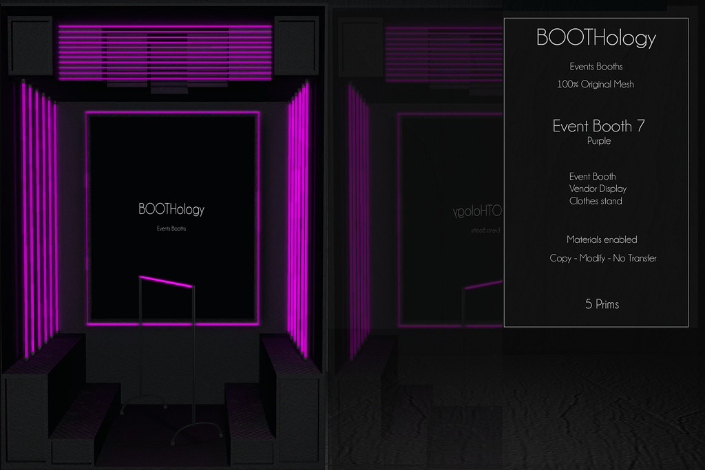 Bothology – Event Booth 7 Purple Version AD