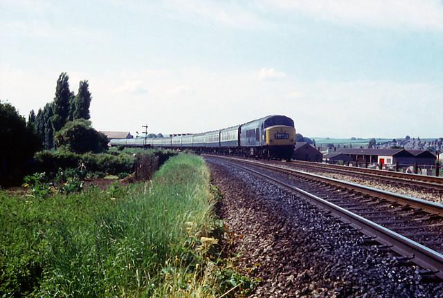 31May75. Exwick. 'Peak' Class 46 46015 (Ex D152). [Slide_0968]