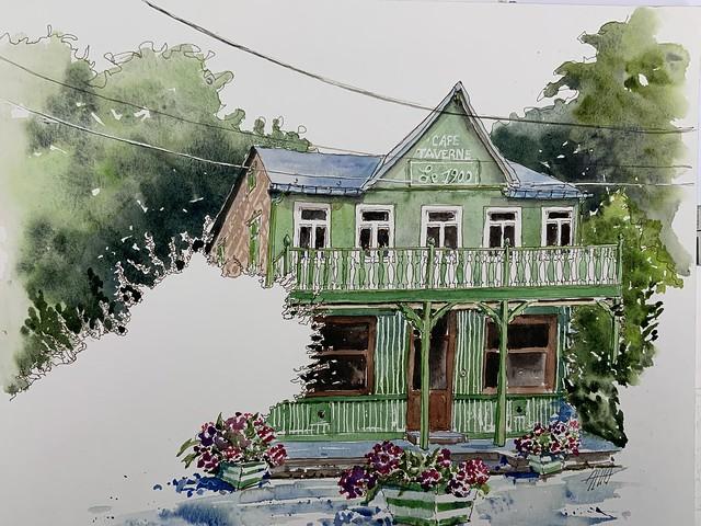 « le Pavillon vert » Thuin Belg.