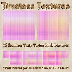 TT 18 Seamless Tasty Tartan Pink Timeless Textures