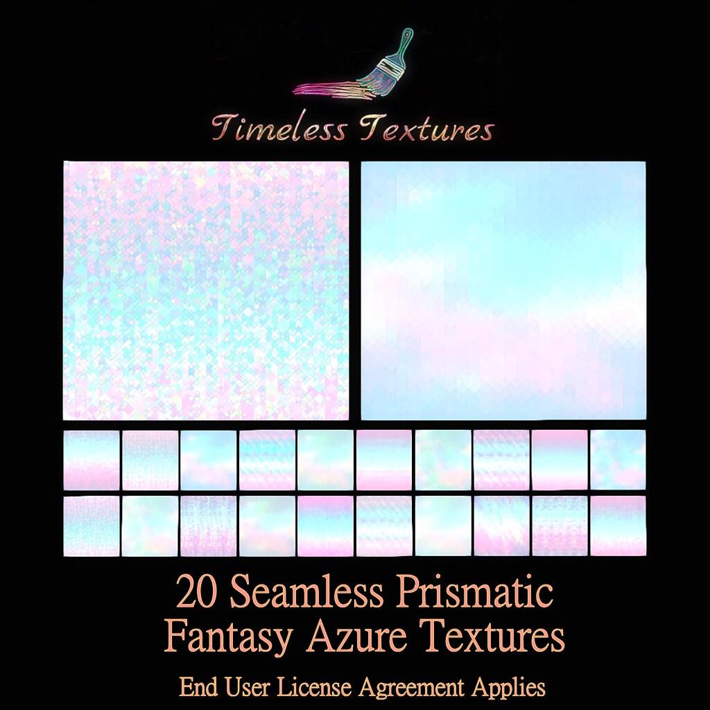 TT 20 Seamless Prismatic Fantasy Azure Timeless Textures